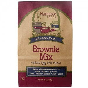 Namaste&#039;s Gluten Free Brownie Mix